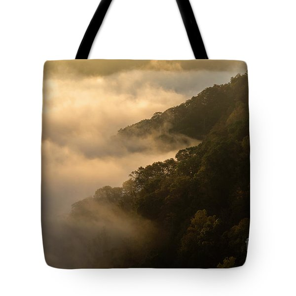 Tote Bag featuring the photograph Above The Mist - D009960 by Daniel Dempster