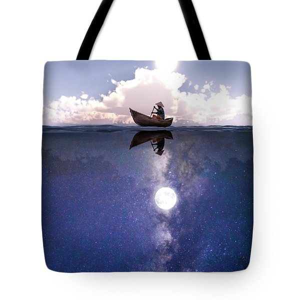 Above The Night Tote Bag
