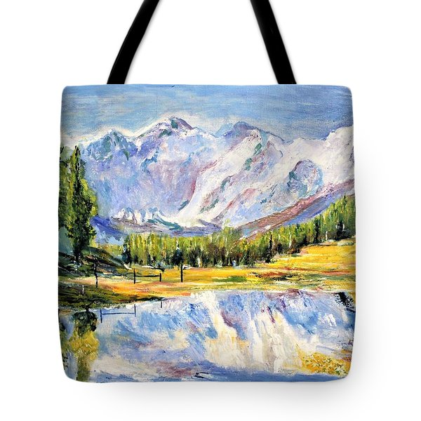 Above The Sea Level Tote Bag