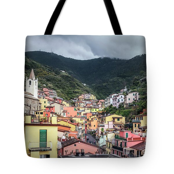 Above The Seafront Tote Bag