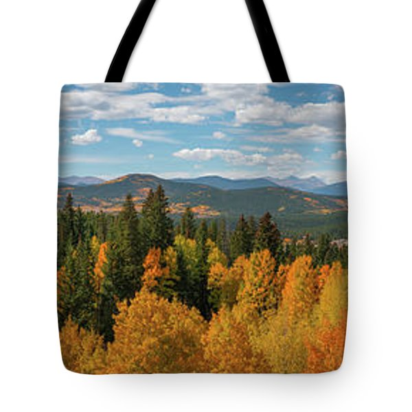 Above The Tree Tops  Tote Bag