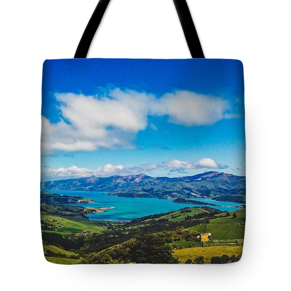 Above To Below Tote Bag