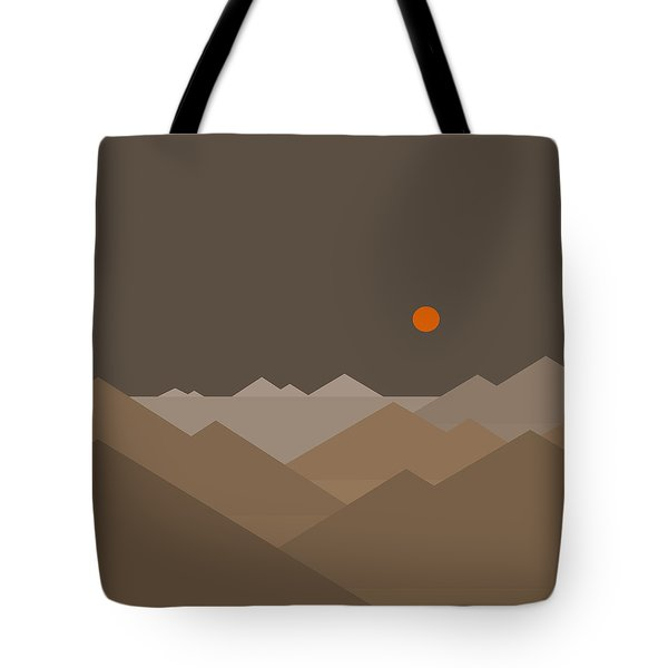 Tote Bag featuring the digital art Above by Val Arie