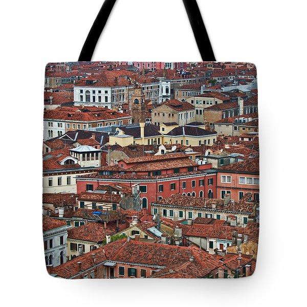 Above Venice Tote Bag by Kim Wilson