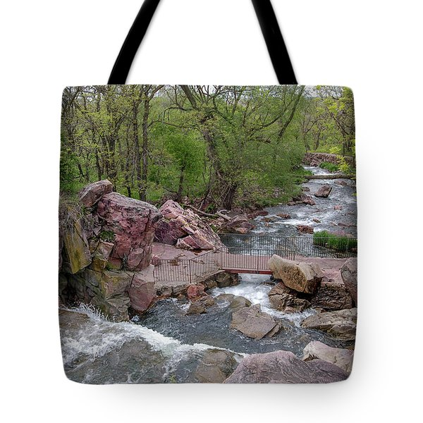 Above Winnewissa Falls 2 Tote Bag