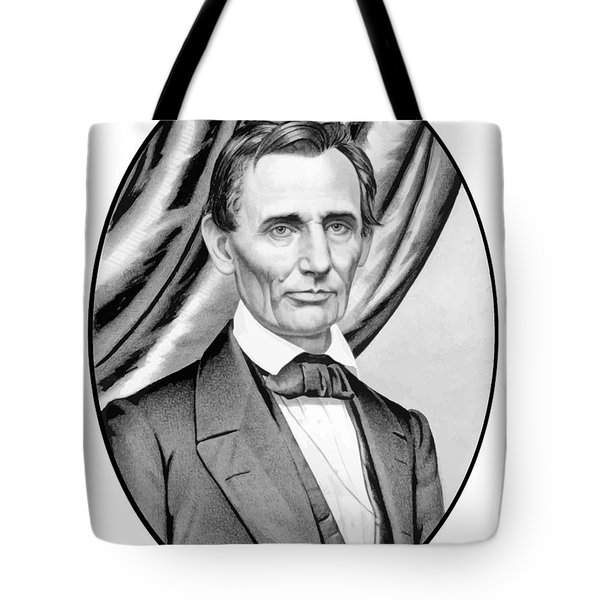 Abraham Lincoln Circa 1860 Tote Bag