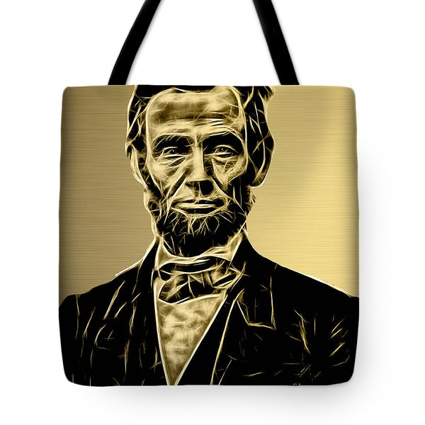Abraham Lincoln Collection Tote Bag
