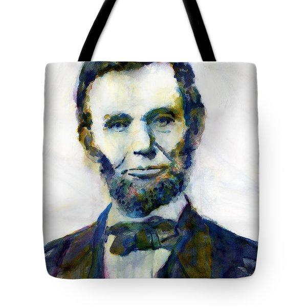 Abraham Lincoln Portrait Study 2 Tote Bag