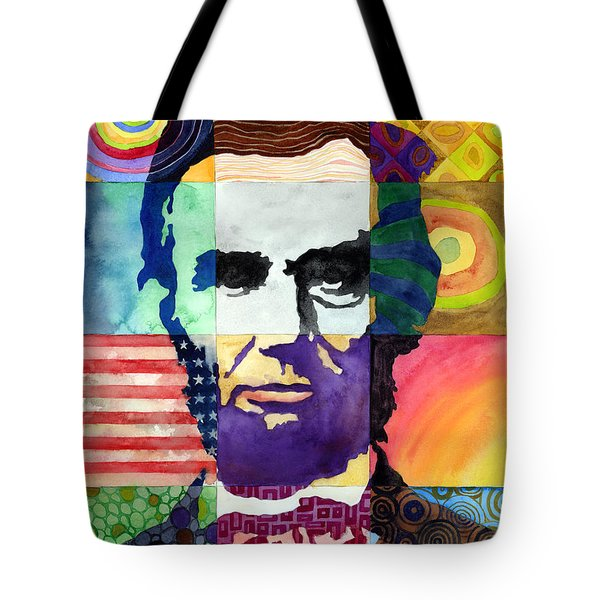 Abraham Lincoln Portrait Study Tote Bag