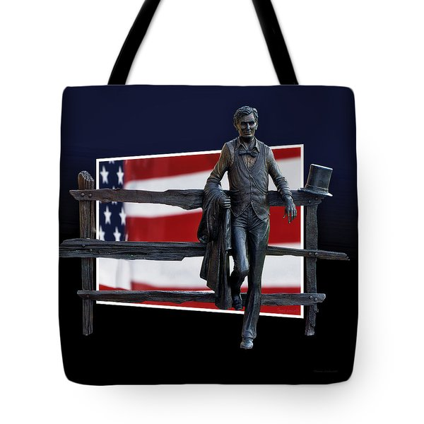 Abraham Lincoln Tote Bag by Thomas Woolworth