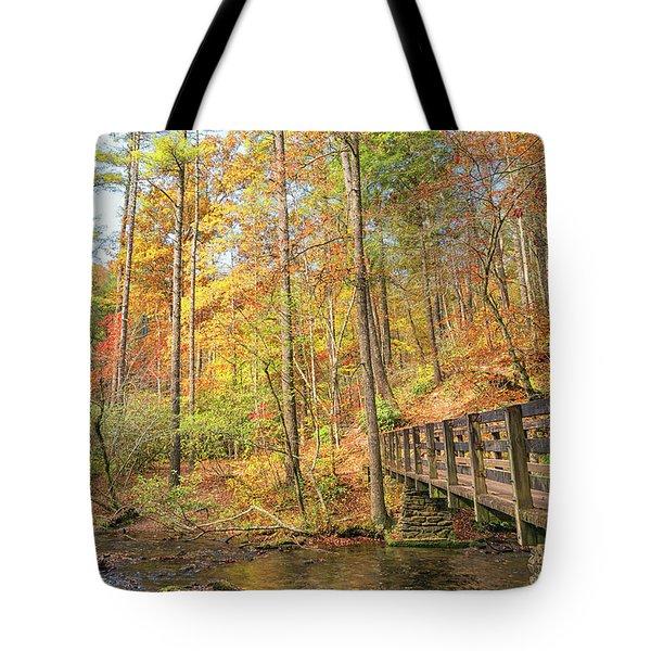 Abrams Falls Trailhead Tote Bag