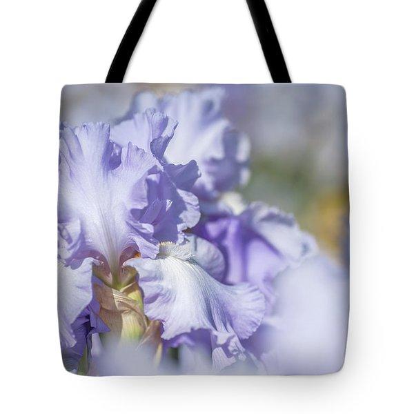Absolute Treasure 1. The Beauty Of Irises Tote Bag