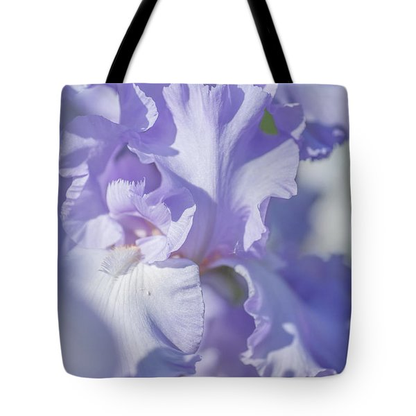 Absolute Treasure Closeup 2. The Beauty Of Irises Tote Bag