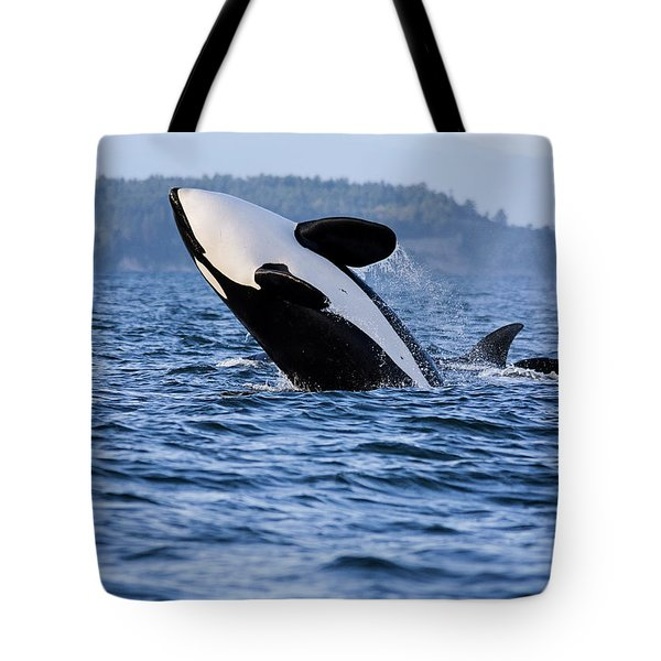 Absolutely Free - Whale Art Tote Bag