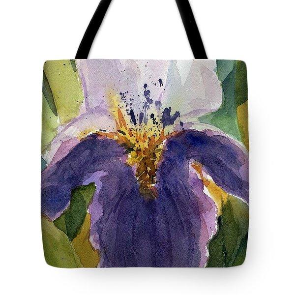 Absract Iris Tote Bag