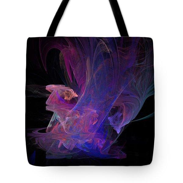 Abstact Pink Swan Tote Bag