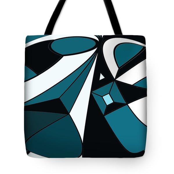 Abstrac7-30-09-a Tote Bag by David Lane