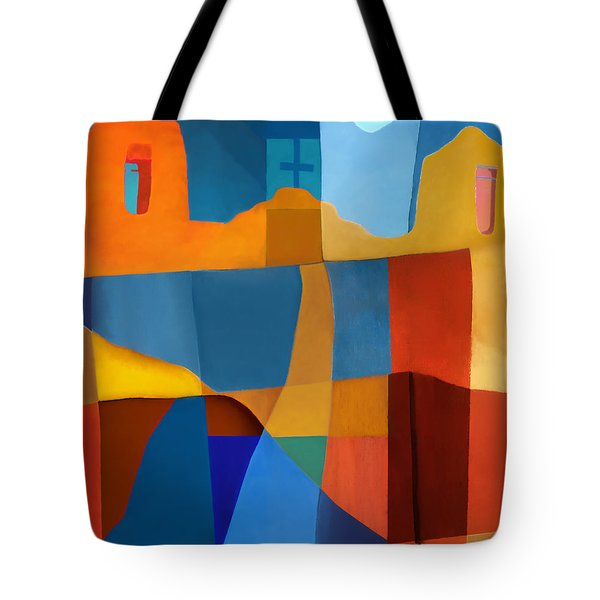 Abstract # 2 Tote Bag by Elena Nosyreva