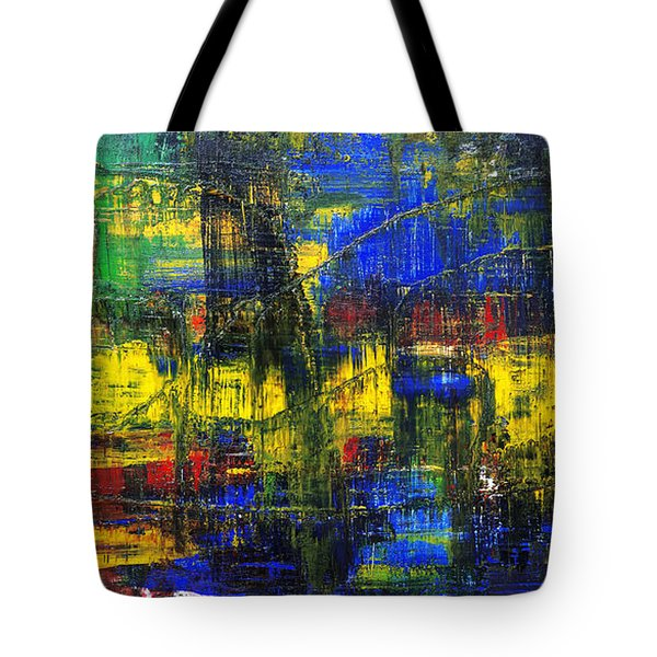 Abstract # 2  Tote Bag