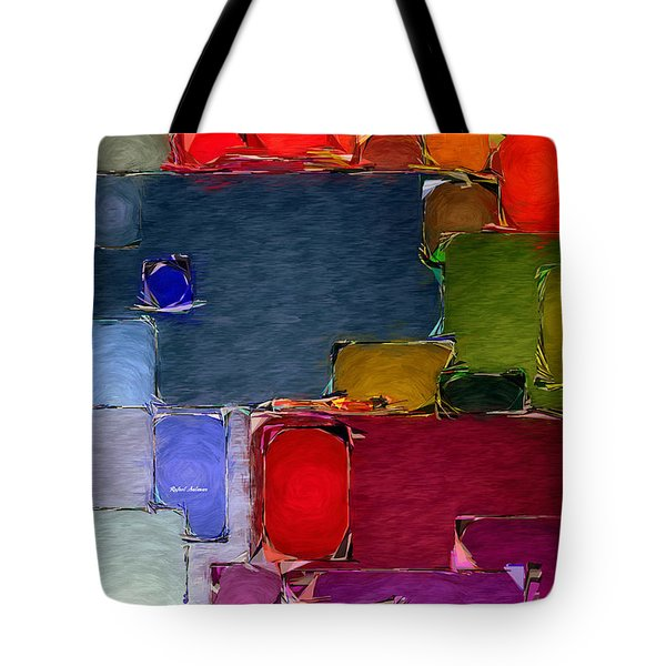 Abstract 005 Tote Bag