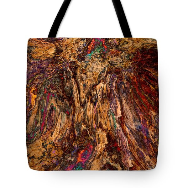 Abstract 013116 Tote Bag by Matt Lindley