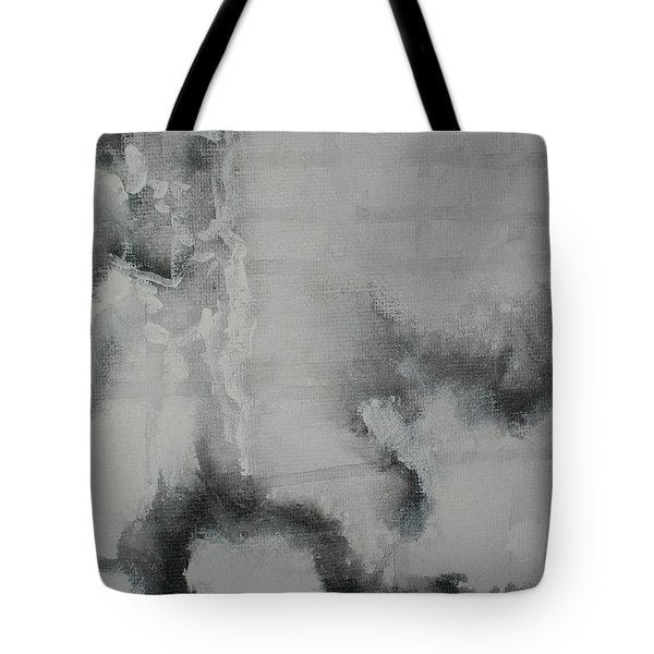 Tote Bag featuring the painting Abstract #03 by Raymond Doward