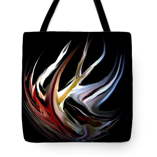 Abstract 07-26-09-c Tote Bag by David Lane