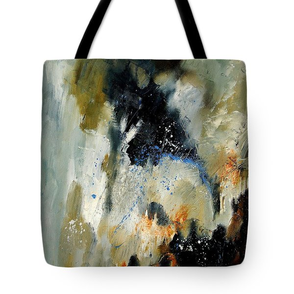 Abstract 070808 Tote Bag by Pol Ledent