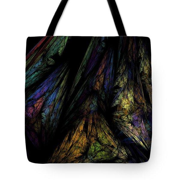 Abstract 10-08-09-1 Tote Bag by David Lane