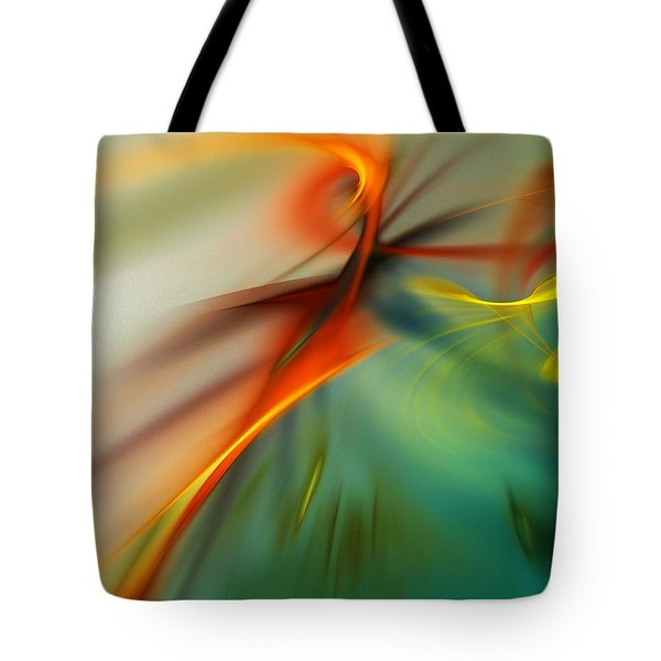 Abstract 110910b Tote Bag by David Lane