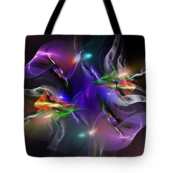 Abstract 112211 Tote Bag by David Lane