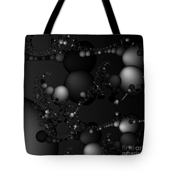 Abstract 119 Bw Tote Bag