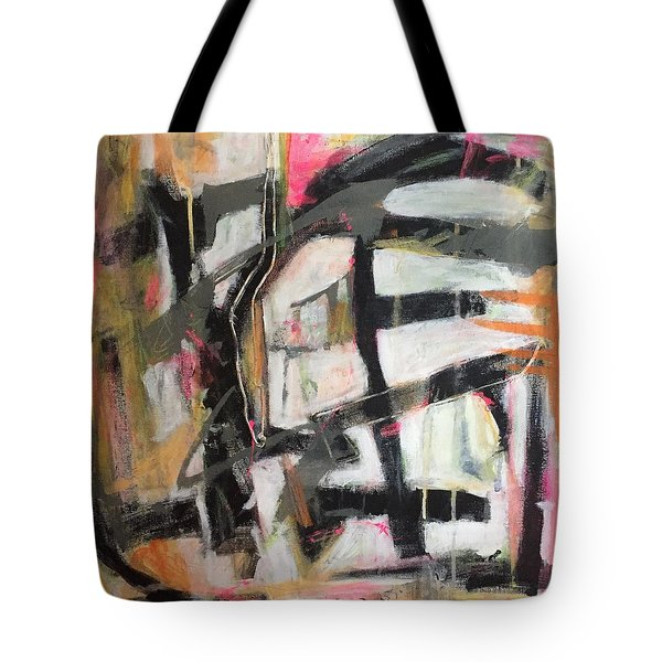 Abstract 1230-16 Tote Bag by Shelley Graham Turner