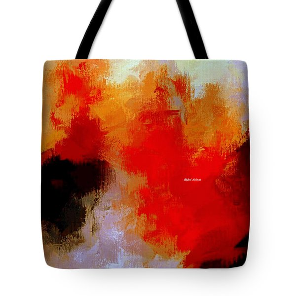 Tote Bag featuring the digital art Abstract 1909f by Rafael Salazar