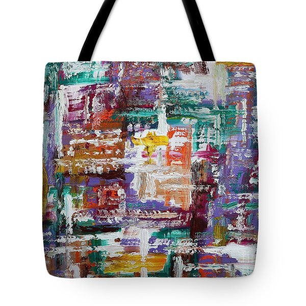 Abstract 193 Tote Bag by Patrick J Murphy