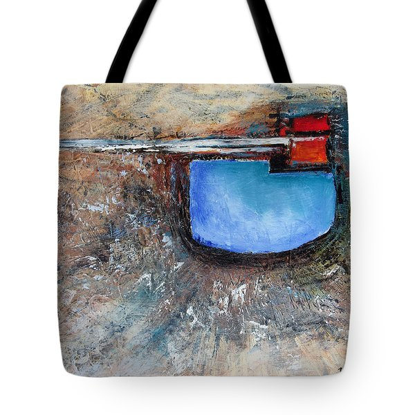 Tote Bag featuring the painting Abstract 200112 by Rick Baldwin