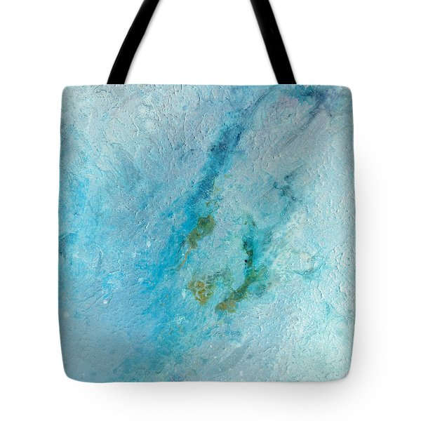 Tote Bag featuring the painting Abstract 200907 by Rick Baldwin