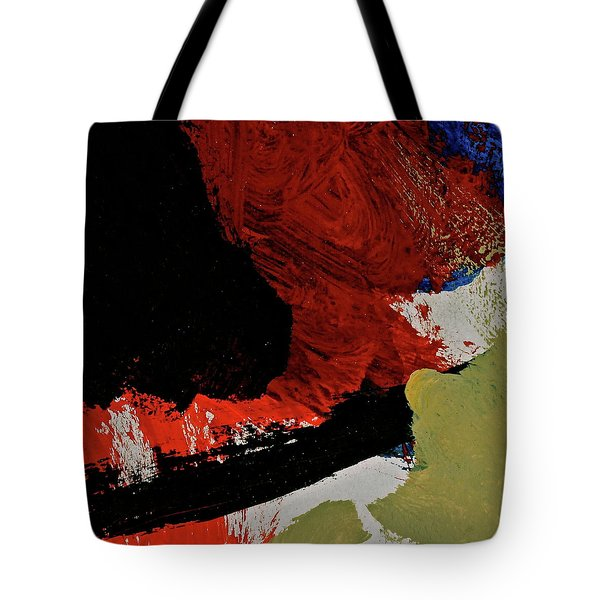 Tote Bag featuring the painting Abstract 2069 by Cliff Spohn