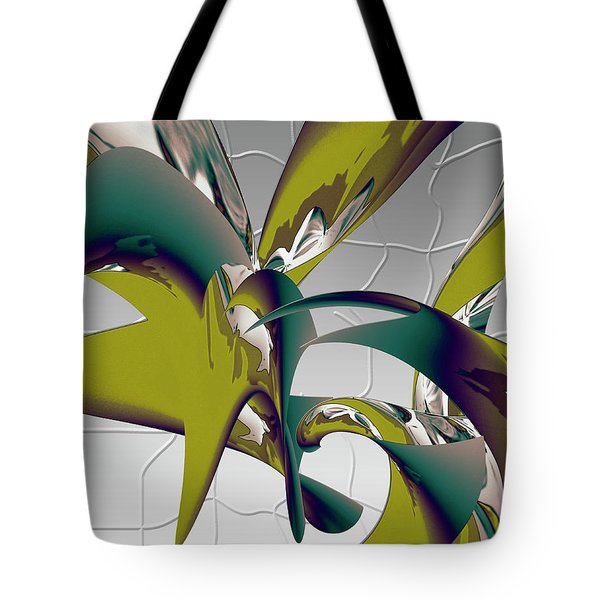 Tote Bag featuring the digital art Abstract 2258 by Gerlinde Keating - Galleria GK Keating Associates Inc