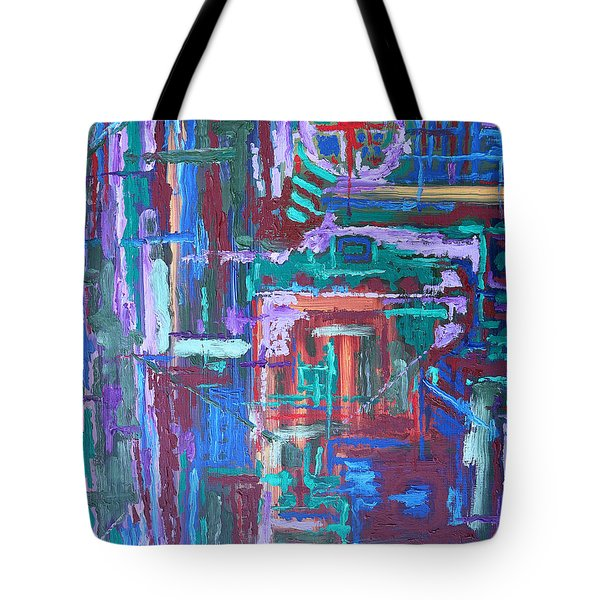 Abstract 27 Tote Bag by Patrick J Murphy