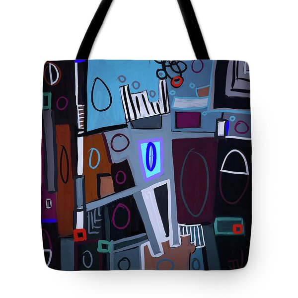 Tote Bag featuring the digital art Abstract - 29oct2017 by Jim Vance