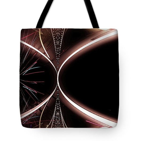 Abstract 302-2015 Tote Bag by John Krakora
