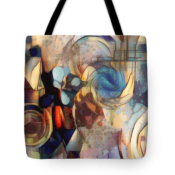 Abstract 32 Tote Bag