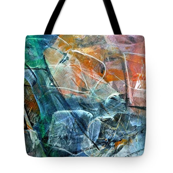 Abstract #326 - Happy Hour Tote Bag