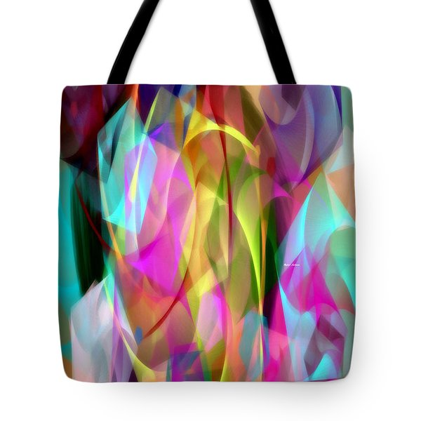 Tote Bag featuring the digital art Abstract 3366 by Rafael Salazar