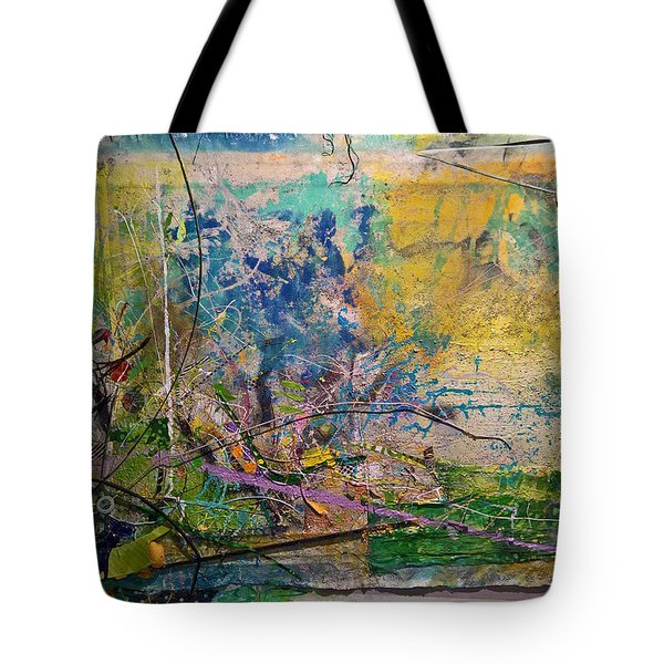 Abstract #42217 Tote Bag