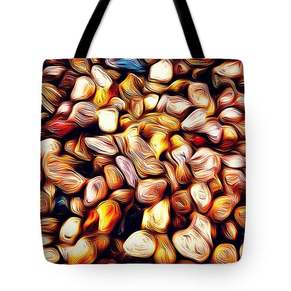 Abstract 46 Fool's Gold Tote Bag