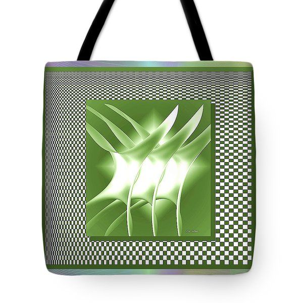 Abstract 54 Tote Bag by Iris Gelbart