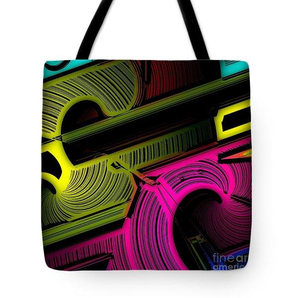 Abstract 6-21-09 Tote Bag by David Lane