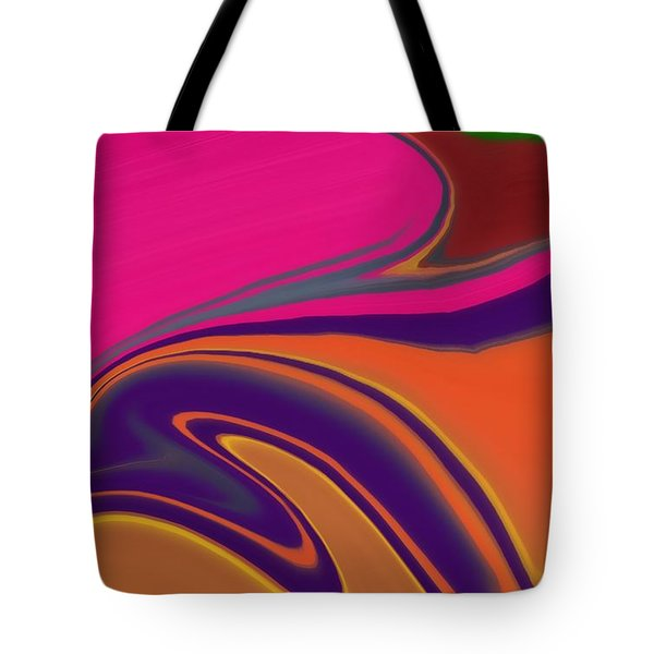Abstract 6 Tote Bag